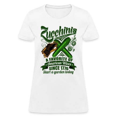 Zucchinis_Print - Women's T-Shirt
