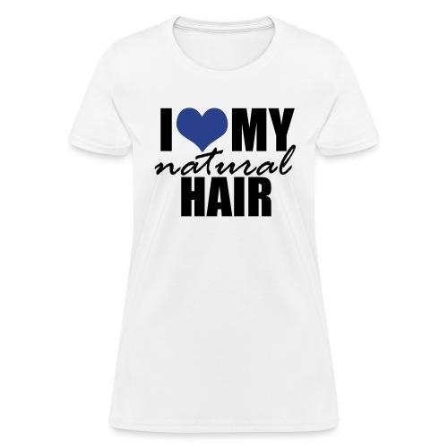 LOVE MY NH blue - Women's T-Shirt