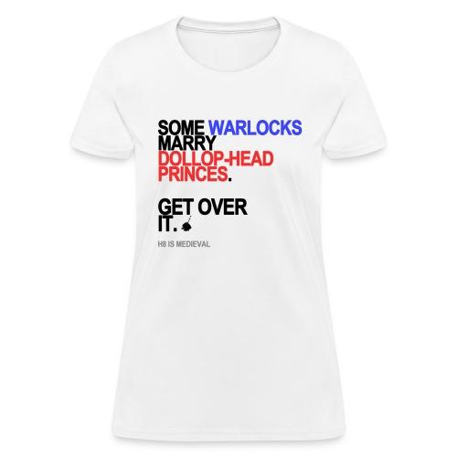 some wizards marry princes lg transparen - Women's T-Shirt