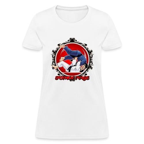 Judo Shirt Jiu Jitsu Shirt Throw Tomoe Nage - Women's T-Shirt
