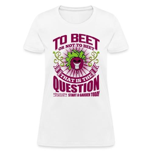 rsz_beet_print - Women's T-Shirt
