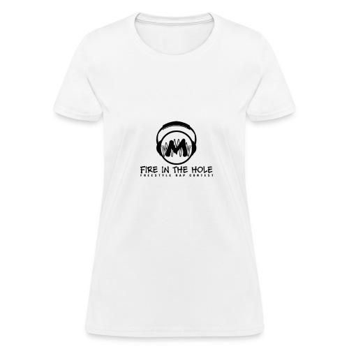 fire in hole white - Women's T-Shirt