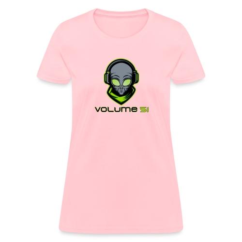 Volume 51 Text Logo - Women's T-Shirt