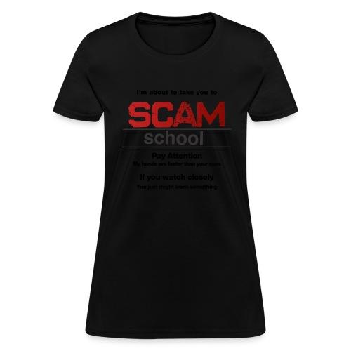 takeyoutoschool black - Women's T-Shirt