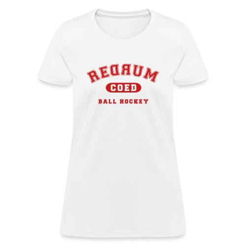 redrum varsity - Women's T-Shirt