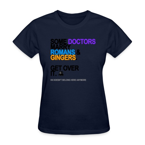 some doctors marry romansgingers lg tran - Women's T-Shirt
