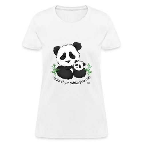 SnuggleCoats_panda - Women's T-Shirt