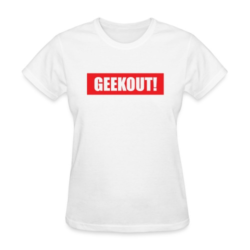 Geekout Gaming Apparel Branded Tee - Women's T-Shirt