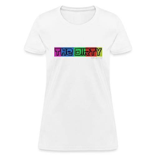The Dirty FM transparent - Women's T-Shirt