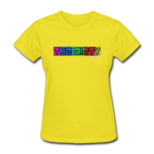 The Dirty FM transparent - Women's T-Shirt