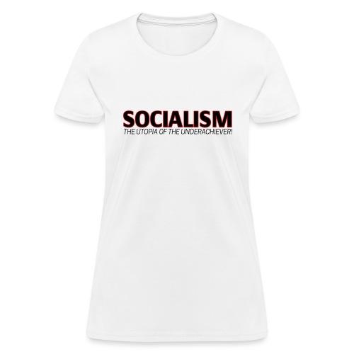 SOCIALISM UTOPIA - Women's T-Shirt