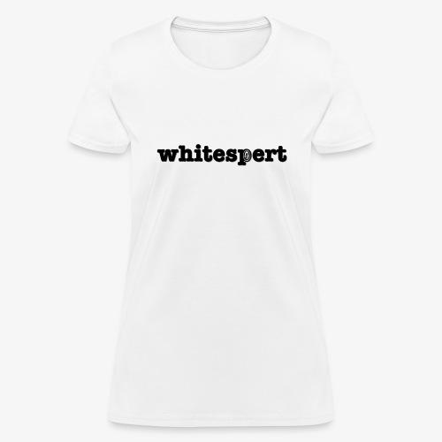 whitespert - Women's T-Shirt