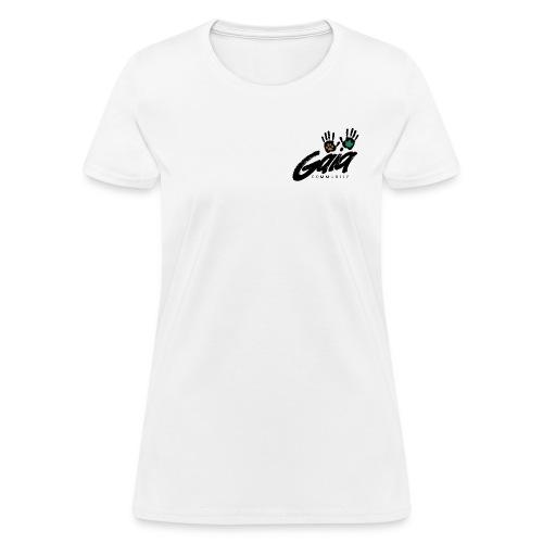 gaialogo2 png - Women's T-Shirt