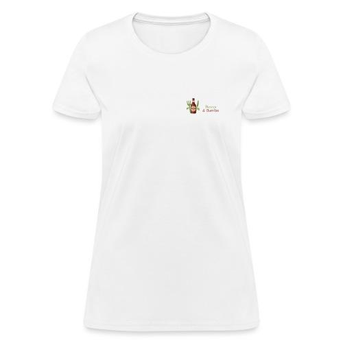 Beers & Burritos Logo - Women's T-Shirt
