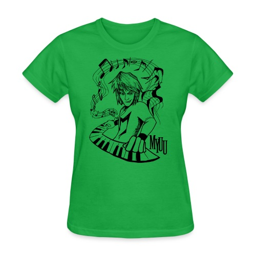 MCP Design black - Women's T-Shirt