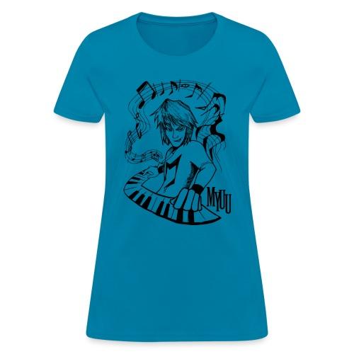 MCP Design black - Women's T-Shirt