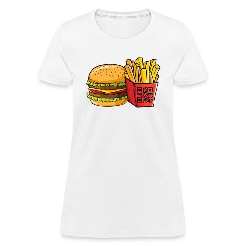 Mystery Message T-shirt Decode Now! - Women's T-Shirt