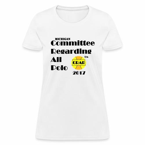Committee Regarding All Polo - Women's T-Shirt