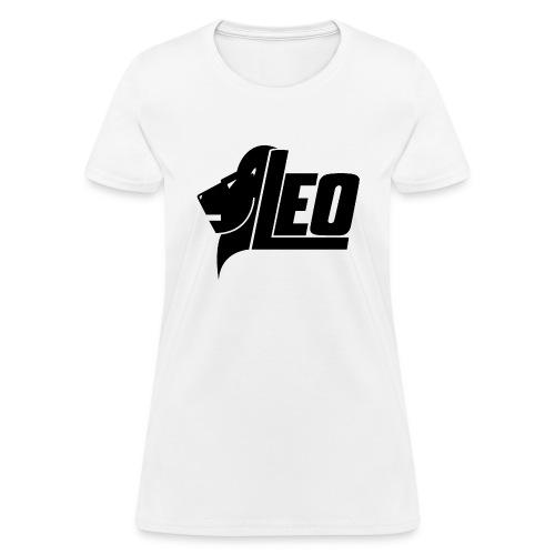 LEO Black png - Women's T-Shirt