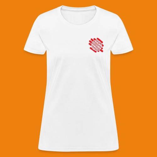 Waffles without Borders Logo - Women's T-Shirt