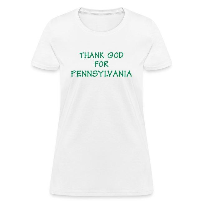 Thank God for (PA) Pennsylvania