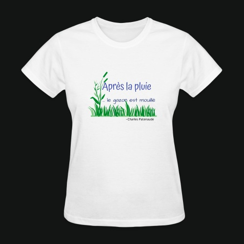 Gazon mouillé 2.0 - Women's T-Shirt