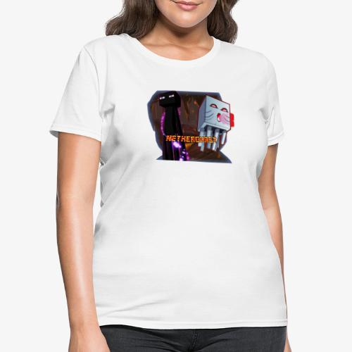 NetherGhast Mascot - Women's T-Shirt