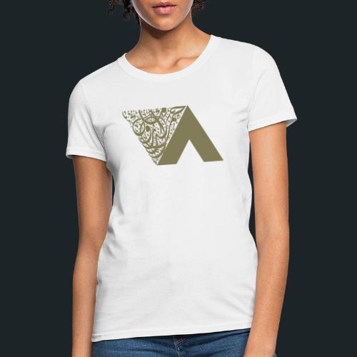 Ahmed Romel Gold Calli Full - Women's T-Shirt