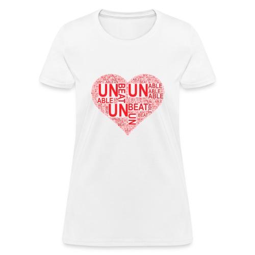 unbeatableMe - Women's T-Shirt