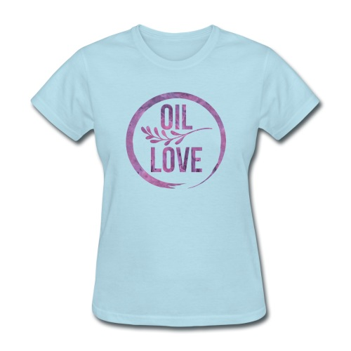 Oil Love Purple - Women's T-Shirt