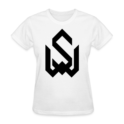 Final Logo Slim Black png - Women's T-Shirt