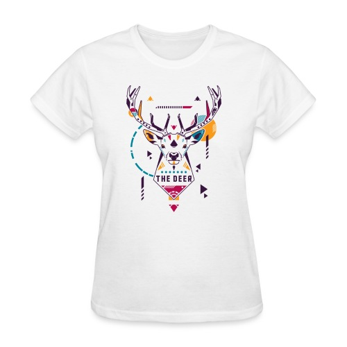 The Deer - Women's T-Shirt