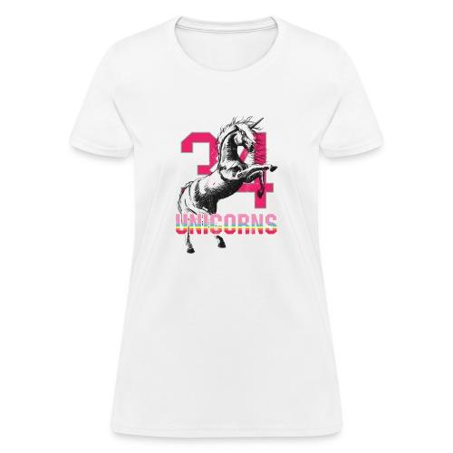 Pink Horse - Women's T-Shirt