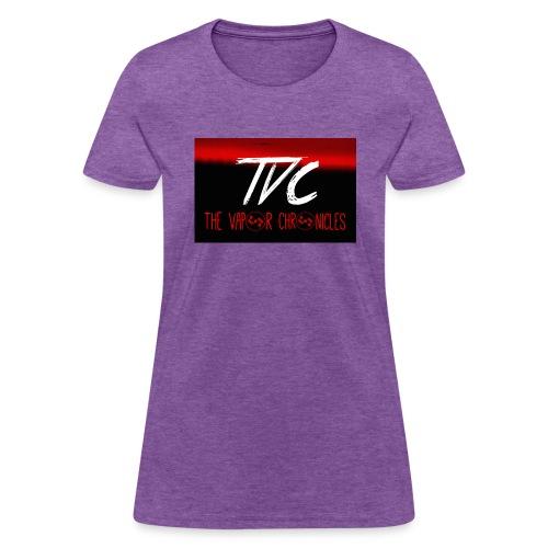 fire above TVC - Women's T-Shirt