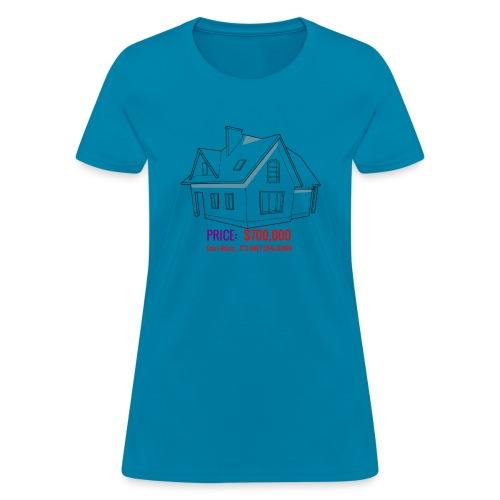 Fannie & Freddie Joke - Women's T-Shirt