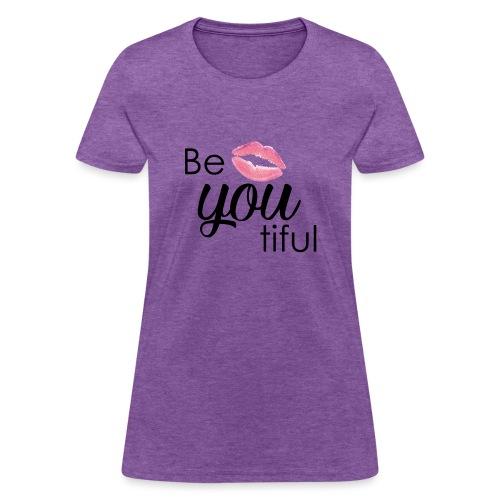 Be-You-Tiful Lip Logo - Women's T-Shirt