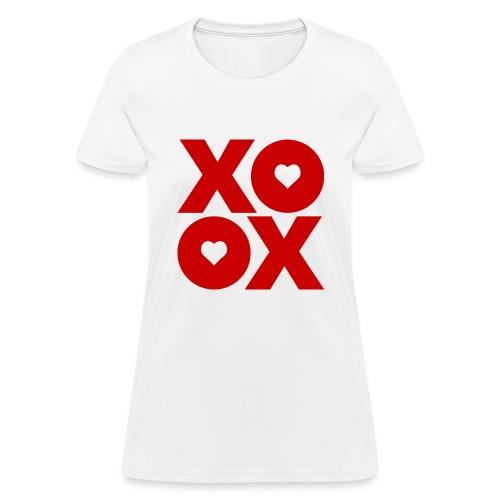 Valentine's Day XOXO - Women's T-Shirt