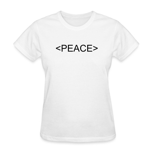 HTML Start Peace - Women's T-Shirt