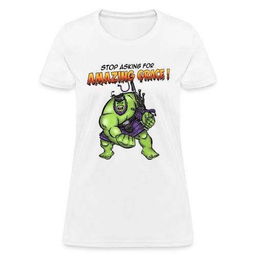 hulk title 2 - Women's T-Shirt