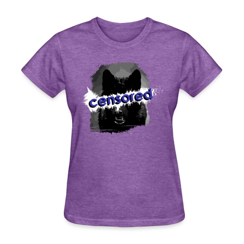 Wolf censored - Women's T-Shirt