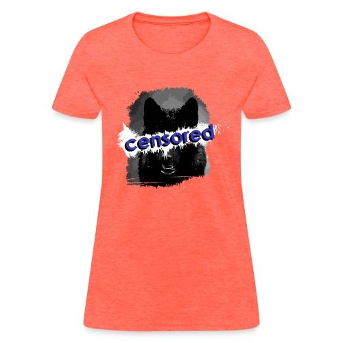 Wolf censored - Women's T-Shirt