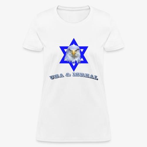 USA & ISREAL - Women's T-Shirt