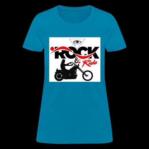 Eye Rock & Ride Design - Women's T-Shirt