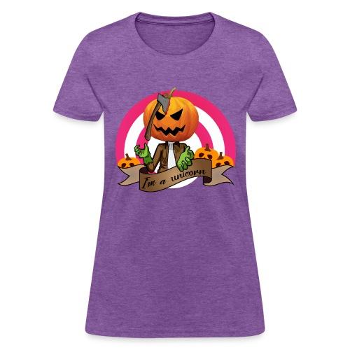 I'm A Unicorn Halloween - Women's T-Shirt
