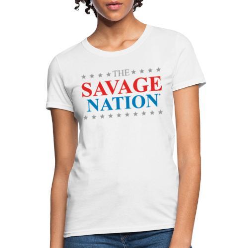 The Savage Nation Logo - Women's T-Shirt