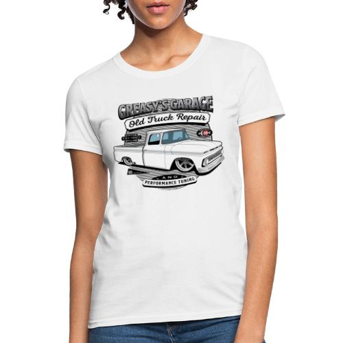 Greasy's Garage Old Truck Repair - Women's T-Shirt
