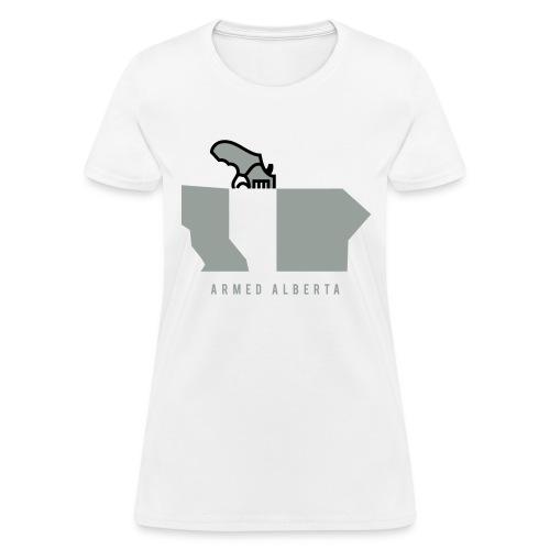 Armed Alberta - Women's T-Shirt