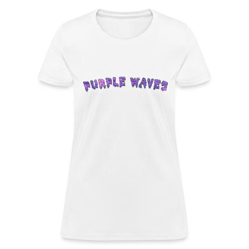 Purple Waves - Women's T-Shirt
