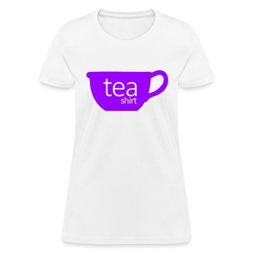 Tea Shirt Simple But Purple - Women's T-Shirt