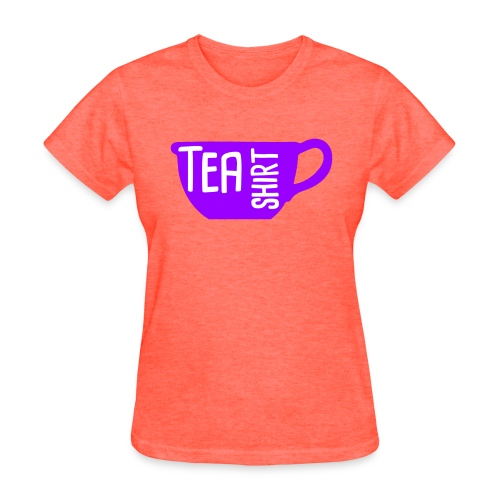Tea Shirt Purple Power of Tea - Women's T-Shirt